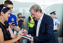 Roy Hodgson, manager during arrival of  England National Football team 1 day before EURO 2016 Qualifications match against Slovenia, on June 13, 2015 in Airport Joze Pucnik, Brnik - Ljubljana, Slovenia. Photo by Vid Ponikvar / Sportida