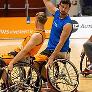 NLD/Rotterdam/20190706 - BN'ers spelen rolstoelbasketbal tijdens EK rolstoelbasketbal vrouwen,