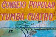 Tumba Cuatro in the Campo Florido area of Ciudad de La Habana, Cuba.