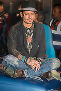 Johnny Depp presents his favourite films in Cineramageddon - The 2017 Glastonbury Festival, Worthy Farm. Glastonbury, 22 June 2017