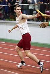 BU Terrier Indoor track meet<br /> 4x400 relay, BC