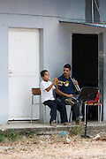"Jose? Marti? Bolivarian school at the Barrio Sarria, one of Caracas' poor quarters, is home to the ""Nucleo Sarria of the ""Fundacion del Estado para el Sistema Nacional de las Orquestas Juveniles e Infantiles de Venezuela"" (FESNOJIV, National Network of Youth and Children Orchestras of Venezuela). This organization is also known as El Sistema, is a publicly financed private-sector music-education program in Venezuela, originally called Social Action for Music, founded 1975 by Venezuelan economist and amateur musician Jose? Antonio Abreu."