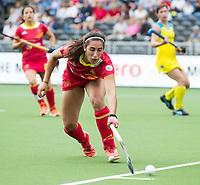 BRUSSEL -  during  the match   AUSTRALIA v SPAIN , Fintro Hockey World League Semi-Final (women) . COPYRIGHT KOEN SUYK