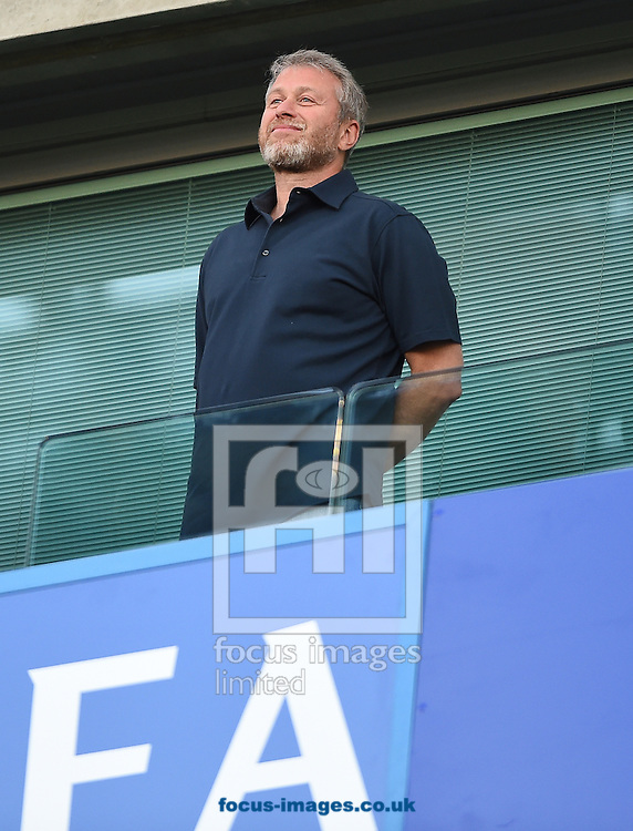 Owner  of Chelsea Roman Abramovich during the Premier League match at Stamford Bridge, London<br /> Picture by Daniel Hambury/Focus Images Ltd +44 7813 022858<br /> 15/08/2016
