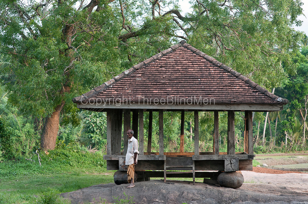 KARAGAHAGEDERA AMBALAMA (rest pavilion), (Karagahagedara Pilgrims Rest)<br />