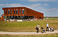 BENTHUIZEN - Clubhuis, Golfbaan BENTWOUD. COPYRIGHT KOEN SUYK