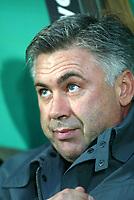 Genova 30-10-2004<br /> <br /> Campionato  Serie A Tim 2004-2005<br /> <br /> Sampdoria Milan<br /> <br /> nella  foto Carlo Ancelotti Milan trainer<br /> <br /> Foto Snapshot / Graffiti