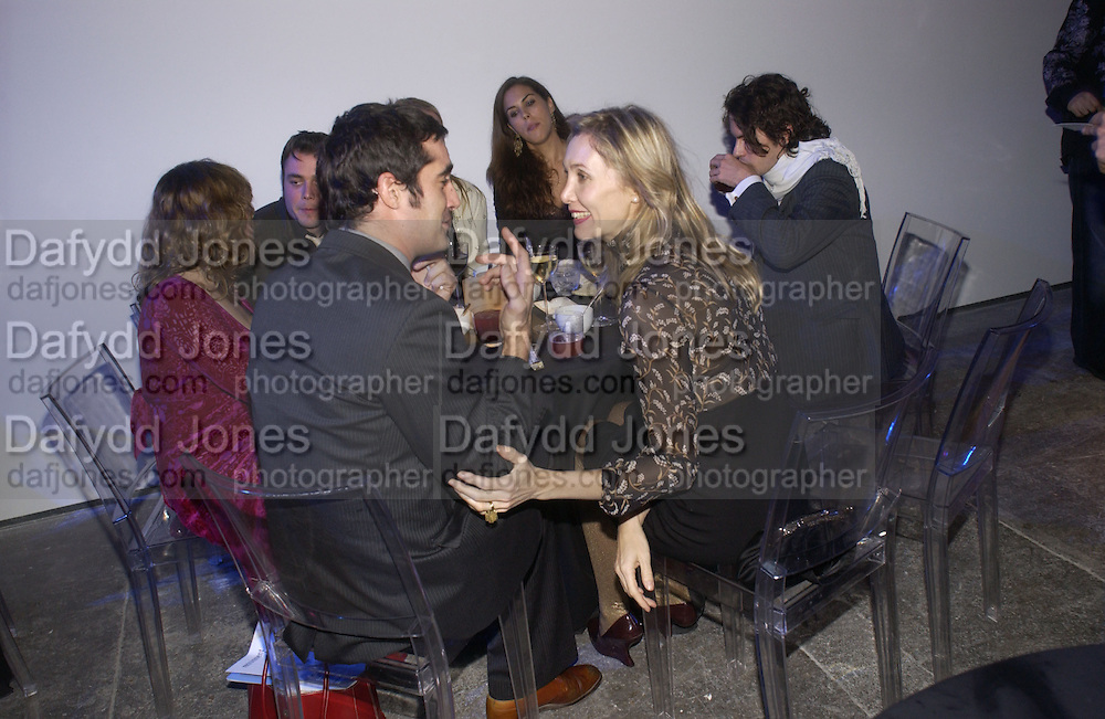 Allegra Hicks. The Almeida Theatre Charity Christmas Gala, to raise funds for the theatre, at the Victoria Miro Gallery, London.  1 December  2005. ONE TIME USE ONLY - DO NOT ARCHIVE  © Copyright Photograph by Dafydd Jones 66 Stockwell Park Rd. London SW9 0DA Tel 020 7733 0108 www.dafjones.com