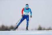 PYEONGCHANG-GUN, SOUTH KOREA - FEBRUARY 16: Marc Gaillard Jean of France during the mens Cross Country 15k free technique at Alpensia Cross-Country Centre on February 16, 2018 in Pyeongchang-gun, South Korea. Photo by Nils Petter Nilsson/Ombrello               ***BETALBILD***