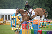 ONWARDS AND UPWARDS ridden by Caroline Powell (New Zealand) during the final jumping event at Bramham International Horse Trials 2016 at  at Bramham Park, Bramham, United Kingdom on 12 June 2016. Photo by Mark P Doherty.
