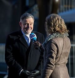 © Licensed to London News Pictures. 30/01/2019. London, UK. Shadow Secretary of State for International Trade Barry Gardiner MP gives an interview on College Green. Theresa May has said she will now return to Brussels to seek further concessions from the EU. Photo credit: Rob Pinney/LNP