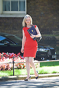Cabinet meeting arrivals <br /> Downing Street, London, Great Britain <br /> 19th July 2016 <br /> <br /> New members of the Cabinet <br /> arriving ahead of the first cabinet meeting chaired by Theresa May <br /> <br /> Liz Truss<br /> Justice<br /> <br /> <br /> Photograph by Elliott Franks <br /> Image licensed to Elliott Franks Photography Services