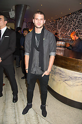 JEREMY IRVINE at a party to celebrate the 10th anniversary of Nobu Berkeley Street held on 5th November 2015.
