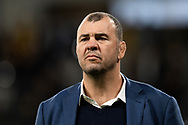 SYDNEY, AUSTRALIA - SEPTEMBER 07: Wallabies coach Michael Cheika before the international rugby test match between the Australian Wallabies and Manu Samoa on September 07, 2019 at Bankwest Stadium in Sydney, Australia. (Photo by Speed Media/Icon Sportswire)