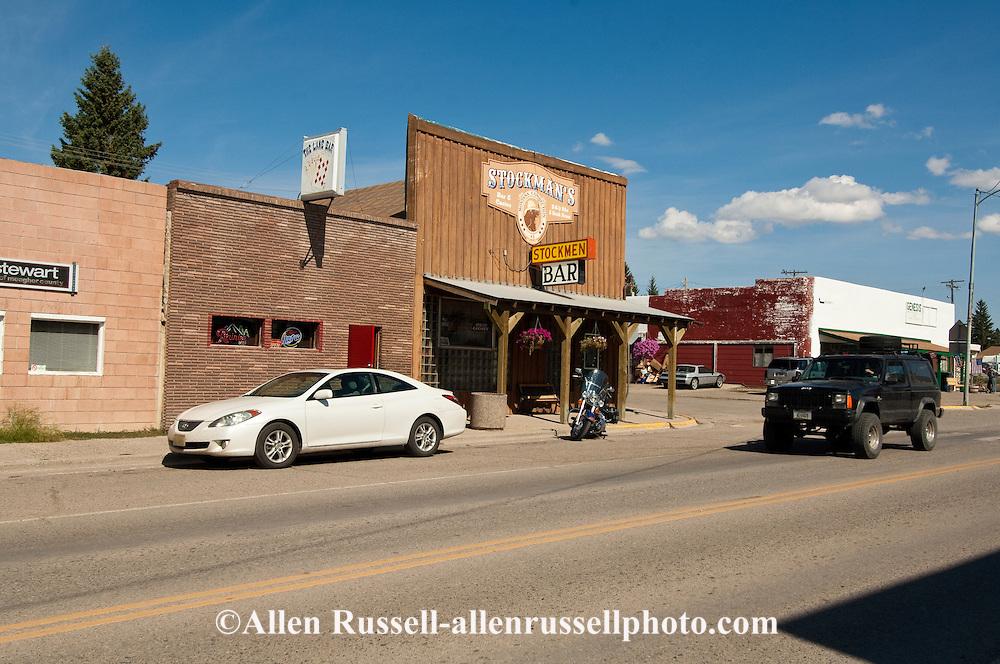 White Sulphur Springs, Montana, Stockman Bar, Main Street
