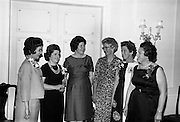 30/6/1964<br /> 6/30/1964<br /> 30 June 1964<br /> <br /> Mrs. B.H. Skinner, Mrs D. O'Neil, Mrs S. Edgar, Mrs Paul O'Dea, Mrs. Michael Delaney and Mrs. J.H. Leech at the Pepsi reception