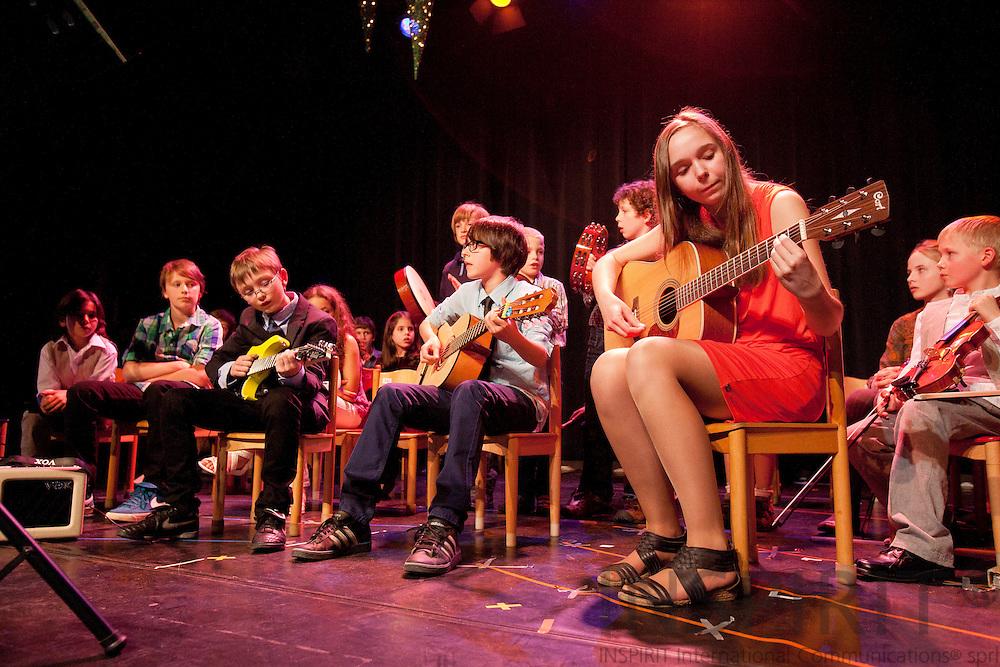 Montessori spring music concert at De Kam in Wezembeek-Oppem 16 March 2012. Photo: ©Erik Luntang/INSPIRIT PHOTO