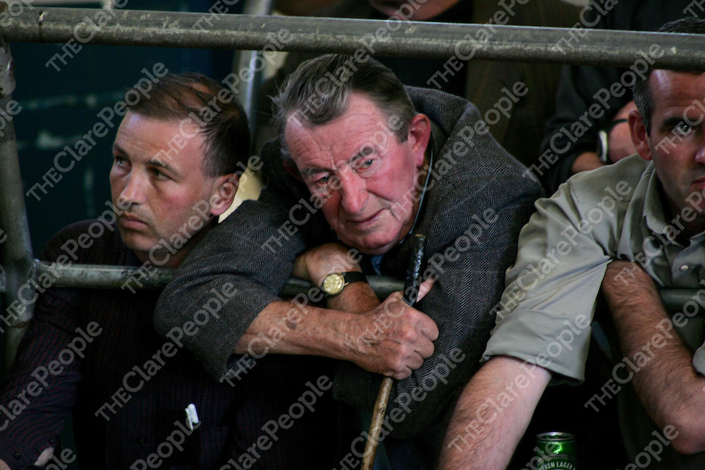 A scene from the agricultural show in Ennistymon Mart on Friday. Pic. Brian Arthur/ Press 22.