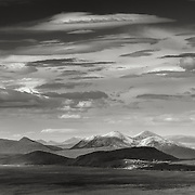 Elgol, Isle of Skye, from the Isle of Rum