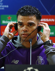 February 11, 2019 - Rome, Italy - FC Porto press conference and training - Champions League.Pepe of Porto at Olimpico Stadium in Rome, Italy on February 11, 2019. (Credit Image: © Matteo Ciambelli/NurPhoto via ZUMA Press)