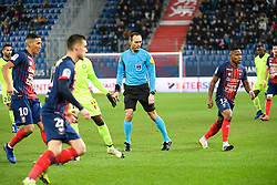 January 11, 2019 - Caen, France - Thomas LEONARD (ARBITRE) - 12 Claudio BEAUVUE  (Credit Image: © Panoramic via ZUMA Press)