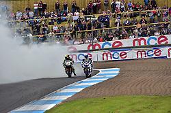 #27 Jake Dixon RAF Regular & Reserves Kawasaki MCE British Superbike Championship #77 James Ellison McAMS Yamaha MCE British Superbike Championship