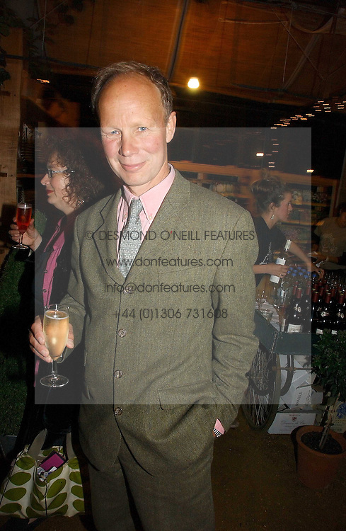 Landscape architect KIM WILKIE  at a party to celebrate the publication on 'A Year in My Kitchen' by Skye Gyngell held at The Petersham Nurseries, Petesham, Surrey on 19th October 2006.<br />