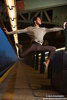 New York City Subway Dance As Art with dancer Julian Watson