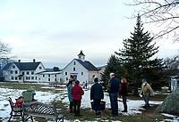 Winter Solstice celebration at Prescott Farm Environmental Center.  Karen Bobotas for the Laconia Daily Sun