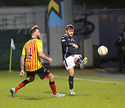 Dundee's Willie Dyer and Partick Thistle's Christie Elliot - Partick Thistle v Dundee - SPFL Premiership at Dens Park<br /> <br />  - &copy; David Young - www.davidyoungphoto.co.uk - email: davidyoungphoto@gmail.com