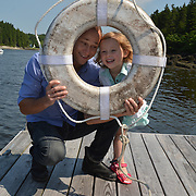 GEORGETOWN, Maine -- 6/30/14 -- Zike Family  portrait. DSC_2352<br /> Photo  ©2014 by Roger S. Duncan <br /> Released for all purposes to Zike Family