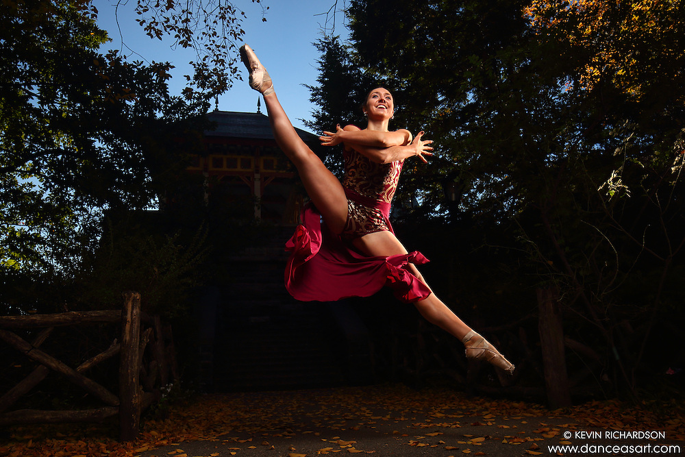 Dance As Art New York City Photography Project Central Park Series with dancer Mykaila Symes