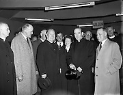 27/06/1958<br /> 06/27/1958<br /> 27 June 1958<br /> <br /> An Taoiseach receiving Cardinal Gilroy at Government Buildings