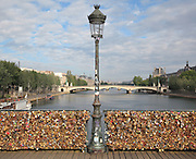 Pont des Arts; 1981 - 1984; by Louis-Alexandre de Cessart and Louis Gerald Arretche, 6th arrondissement, Paris, France. Picture by Manuel Cohen