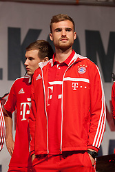 04.07.2013, Riva del Garda, Gardasee, ITA, FC Bayern Muenchen Trainingslager, im Bild Jan KIRCHHOFF (FC Bayern Muenchen), // during the Trainings Camp of German Bundesliga Club FC Bayern Munich at the Riva del Garda, Lake Garda, Italy on 2013/07/04. EXPA Pictures © 2013, PhotoCredit: EXPA/ Eibner/ Alexander Neis<br /> <br /> ***** ATTENTION - OUT OF GER *****