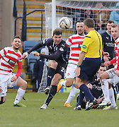 Dundee's Kostadin Gadzhalov clears the danger -  Dundee v Hamilton Academical, SPFL Premiership at Dens Park <br /> <br /> <br />  - &copy; David Young - www.davidyoungphoto.co.uk - email: davidyoungphoto@gmail.com