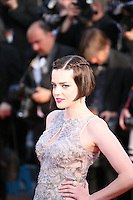 Roxane Mesquida at the On The Road gala screening red carpet at the 65th Cannes Film Festival France. The film is based on the book of the same name by beat writer Jack Kerouak and directed by Walter Salles. Wednesday 23rd May 2012 in Cannes Film Festival, France.