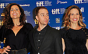 13.SEPT.2010. TORONTO<br /> <br /> MINNIE DRIVER, SAM ROCKWELL AND HILARY SWANK ATTEND THE PRESS CONFRENCE OF NEW FILM CONVICTION AT THE 35TH TORONTO FILM FESTIVAL IN TORONTO.<br /> <br /> BYLINE: EDBIMAGEARCHIVE.COM<br /> <br /> *THIS IMAGE IS STRICTLY FOR UK NEWSPAPERS AND MAGAZINES ONLY*<br /> *FOR WORLD WIDE SALES AND WEB USE PLEASE CONTACT EDBIMAGEARCHIVE - 0208 954 5968*