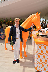 HENRY CONWAY at the Veuve Clicquot Gold Cup Final at Cowdray Park Polo Club, Midhurst, West Sussex on 20th July 2014.
