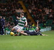 Dundee&rsquo;s Cammy Kerr tackles James Forrest - Celtic v Dundee - Ladbrokes Scottish Premiership at Dens Park<br /> <br />  - &copy; David Young - www.davidyoungphoto.co.uk - email: davidyoungphoto@gmail.com
