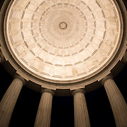 The World War I Memorial on Washington DC's National Mall is a rotunda dedicated to the residents of the District of Columbia who died in World War I. Unlike most of the other monuments on the National Mall, it is not a national monument.