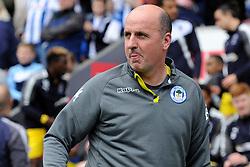 Wigan Athletic manager Paul Cook - Mandatory by-line: Greig Bertram/JMP - 28/04/2018 - FOOTBALL - DW Stadium - Wigan, England - Wigan Athletic v AFC Wimbledon -