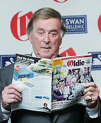 ** File picture of Sir Terry Wogan, who has died of cancer at the age of 77 **© under license to London News Pictures. 10/02/11 Terry Wogan at the 2011 Oldie of the Year Awards at Simpsons On The Strand. Photo credit should read: Olivia Harris/ London News Pictures