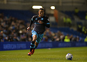 Sheffield Wednesday midfielder Liam Palmer (2) during the Sky Bet Championship match between Brighton and Hove Albion and Sheffield Wednesday at the American Express Community Stadium, Brighton and Hove, England on 8 March 2016. Photo by Adam Rivers.
