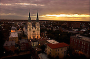 Savannah, Ga. skyline Nov. 30, 2006 from the Chatham Club. (Photography by Stephen Morton)