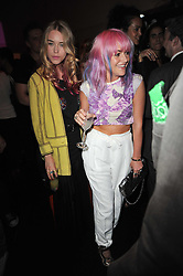 Left to right, MARY CHARTERIS and JAIME WINSTONE at a party to launch Esquire magazine's June issue hosted by new editor Alex Bilmes at Sketch, Conduit Street, London on 5th May 2011.