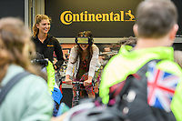 Green Park Festival Zone, Prudential RideLondon 29/07/2017<br /> <br /> Photo: Tom Lovelock/Silverhub for Prudential RideLondon<br /> <br /> Prudential RideLondon is the world's greatest festival of cycling, involving 100,000+ cyclists – from Olympic champions to a free family fun ride - riding in events over closed roads in London and Surrey over the weekend of 28th to 30th July 2017. <br /> <br /> See www.PrudentialRideLondon.co.uk for more.<br /> <br /> For further information: media@londonmarathonevents.co.uk