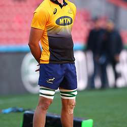 Franco Mostert of South Africa during the South African - Springbok Captain's Run at Emirates Airline Park,<br /> Johannesburg .South Africa. 08,06,2018 Photo by (Steve Haag Sports)