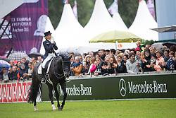Von Bredow-Werndl Jessica, (GER), Unee BB<br /> FEI European Championships - Aachen 2015<br /> © Hippo Foto - Leanjo de Koster<br /> 16/08/15