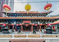 incense offerings at Sik Sik Yuen Wong Tai Sin Temple Kowloon in Hong Kong